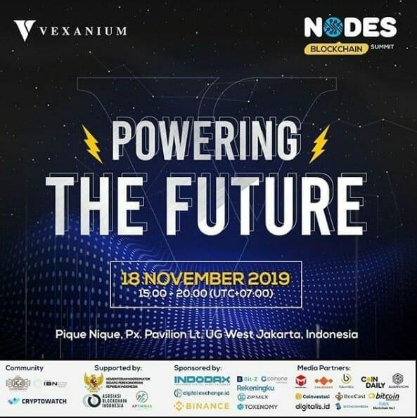 acara vexanium indonesia public blockchain