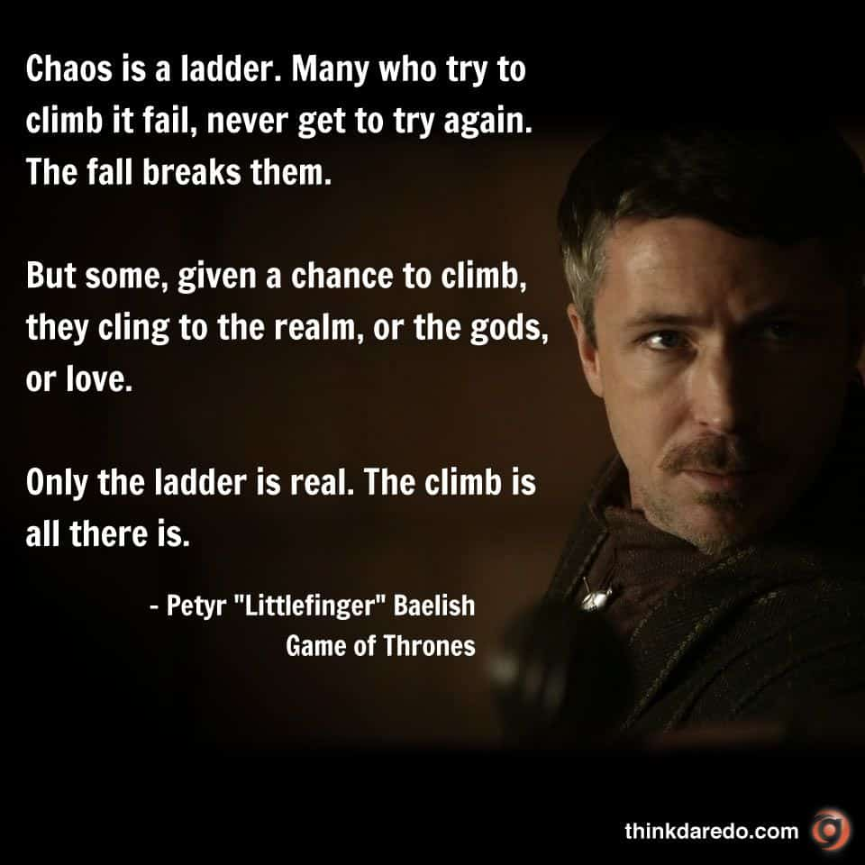 chaos is a ladder - krisis 2020